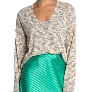 Codexmode V-neck Space Dye Sweater